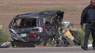 Fatal Head on Crash / Apple Valley  4.14.19