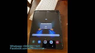 فيديو غير رسمي يستعرض لنا الهاتف القابل للطي Galaxy Fold وهو قيد العمل - إلكتروني