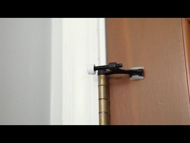 Installing A Hinge Pin Door Stop Youtube