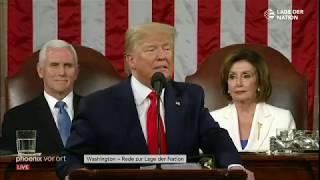 Donald J. Trump - Rede zur Lage der Nation 2020 (german)