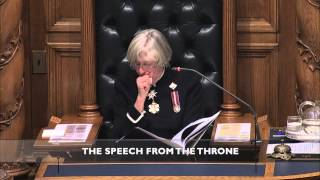 Social Infrastructure - 2014 Speech from the Throne