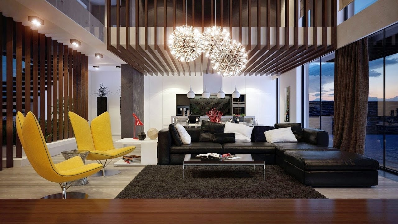 Modern Living Room Ideas 2018 - YouTube