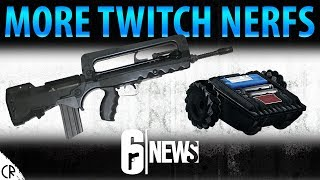 More Twitch Nerfs on the Way! - 6News - Tom Clancy's Rainbow Six Siege