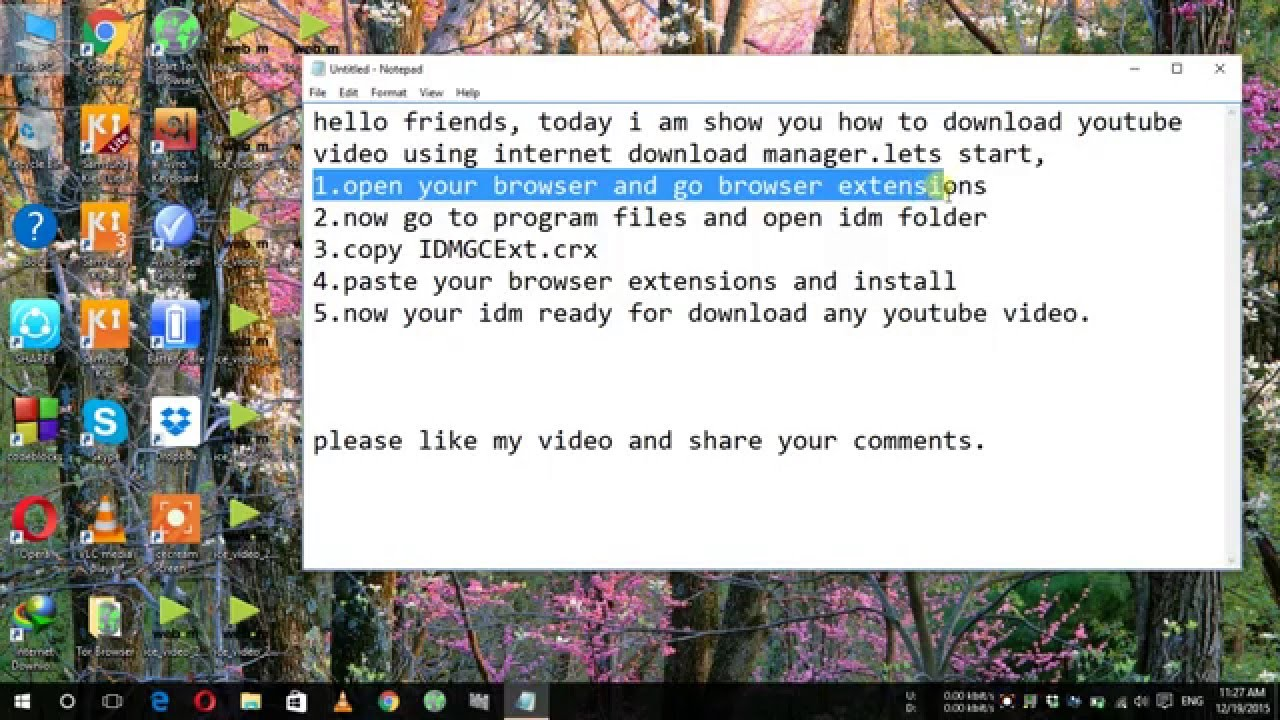 How to download youtube video using idm easy and simple stepsfix how to download youtube video using idm easy and simple stepsfixif icon not show ccuart Image collections