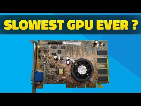 Slowest GPU EVER