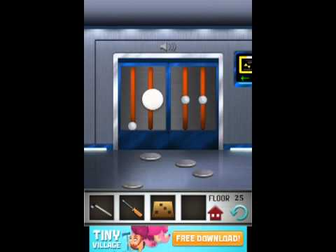 100 floors level 25 floor 25 solution youtube for 100 floors 17th floor answer
