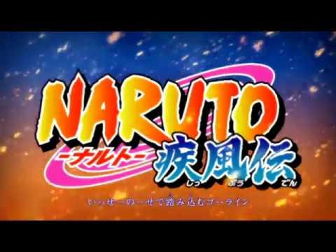 Naruto Shippuden Opening 16 60FPS - Kana-Boon Silhouette