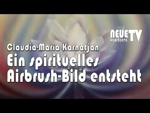 Ein Seelenbild entsteht - Claudia-Maria Karnatjan