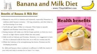 Banana and Milk Diet: Lose 3 KGs in 4 Days
