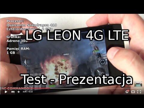 LG Leon 4G LTE Test - Prezentacja