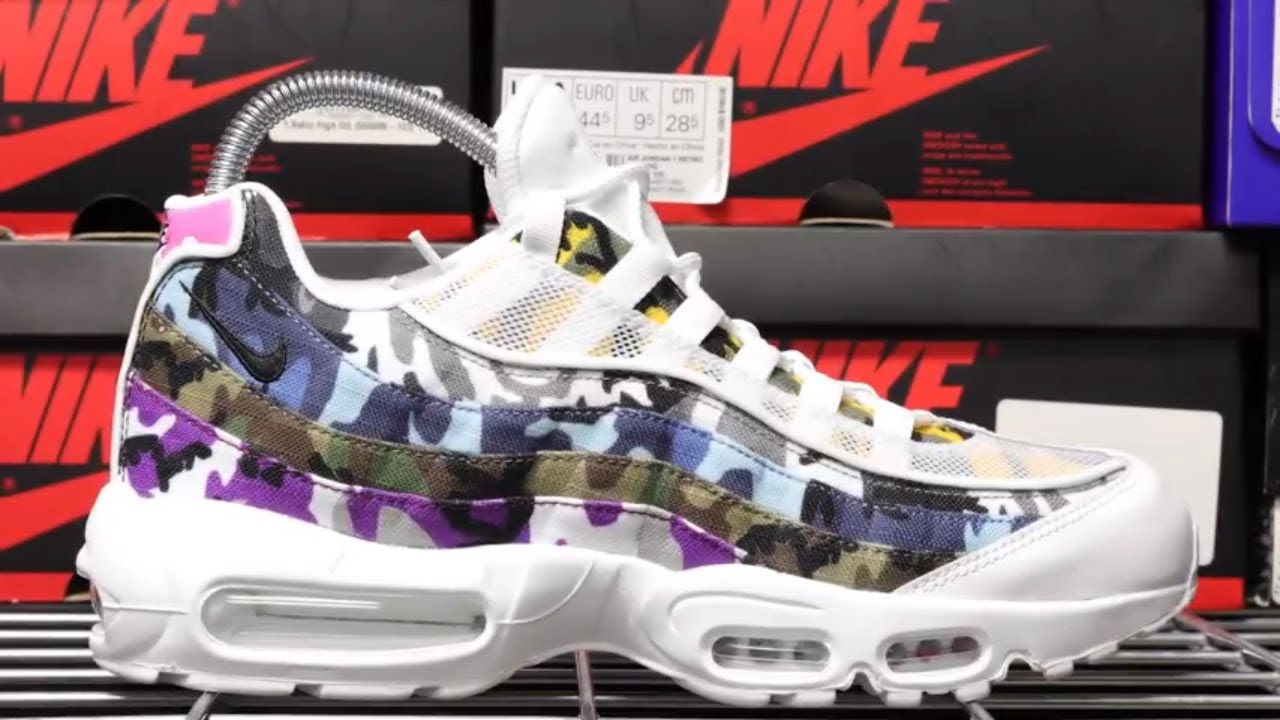 purchase cheap 70700 9d130 AIR MAX 95 ERDL PARTY (WHITE) UNBOXING