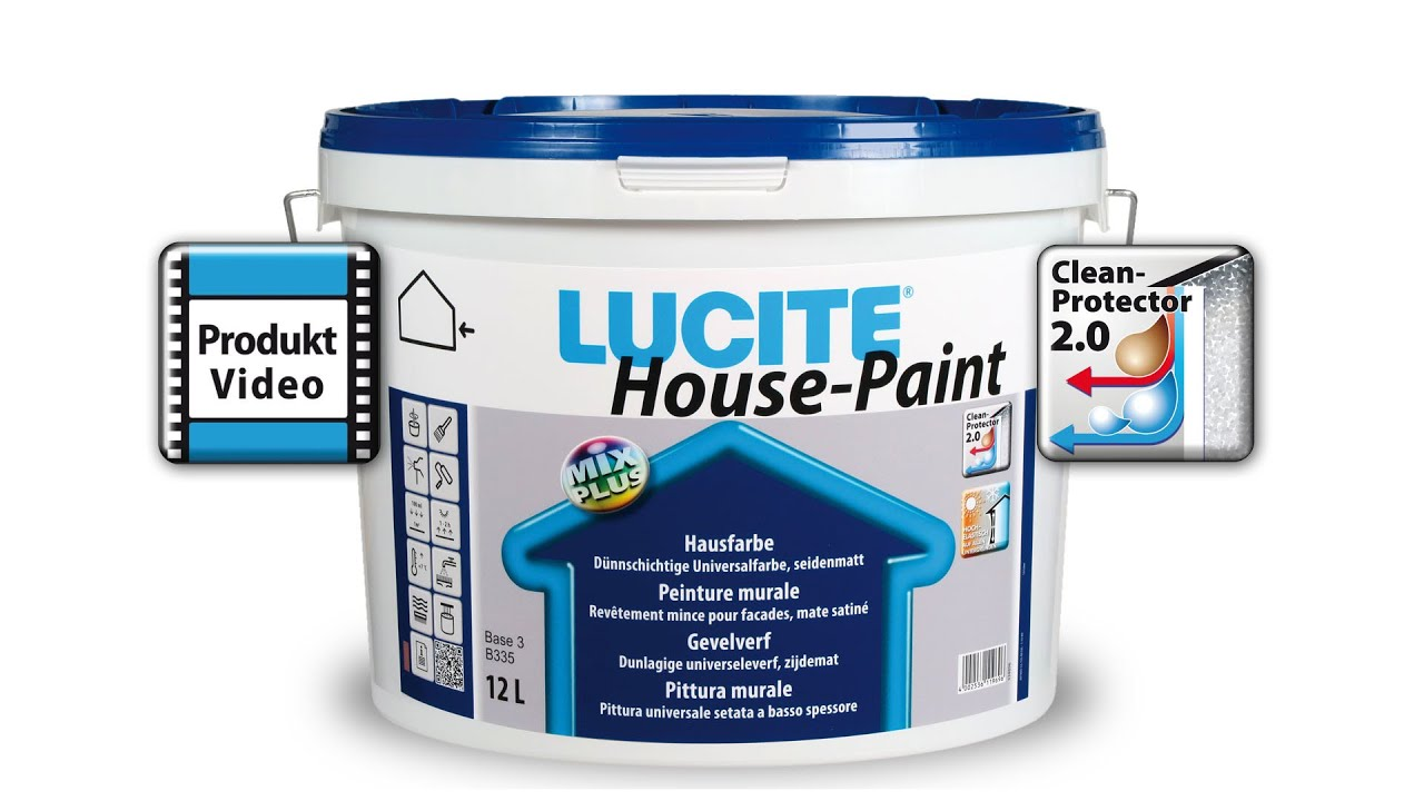 LUCITE® House Paint