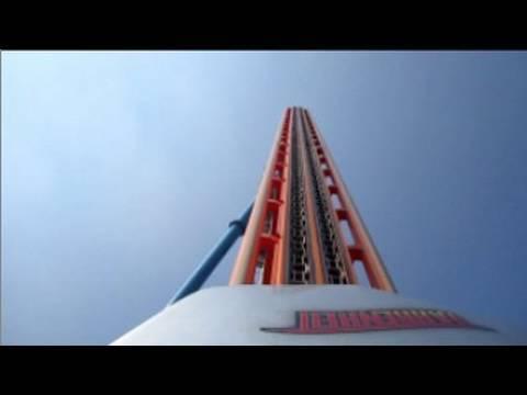 Fahrenheit Front Seat onride HD POV Hersheypark