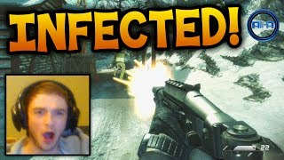 'EPIC ENDING!' - GHOSTS 'INFECTED' Gameplay LIVE w/ Ali-A! - (Call of Duty: Ghost)