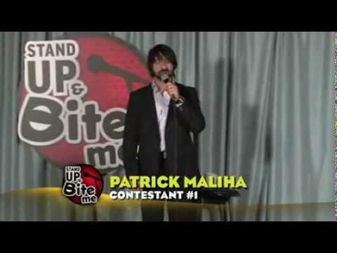 Patrick Maliha: Stand Up & Bite Me Round 1 Contestant 1