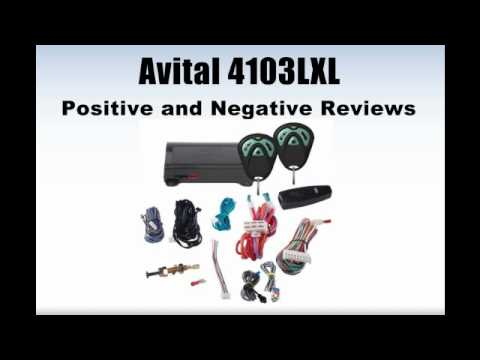 Avital 4103LXL Remote Start System with Two 4-Button Remote Review