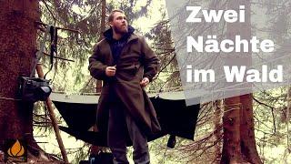 Zwei Nächte, zwei Lastentiere! Unterwegs im Harzer Wald | Bushcraft Overnighter Tour #10