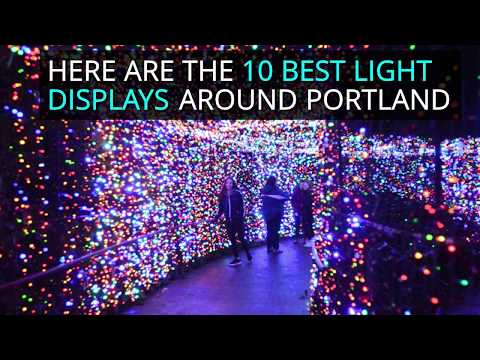 10 best holiday light displays around Portland