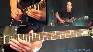 Welcome Home (Sanitarium) Guitar Lesson - Metallica - First Solo