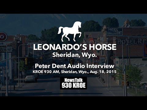 Leonardo's Horse: Peter Dent Audio Interview