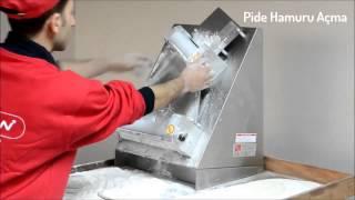 Машина тестораскаточная SM-30 SM-40(Тестораскатка для пиццы и лаваша., 2015-05-05T11:18:01.000Z)