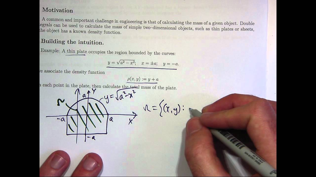 Total mass double integrals youtube robcynllc Image collections