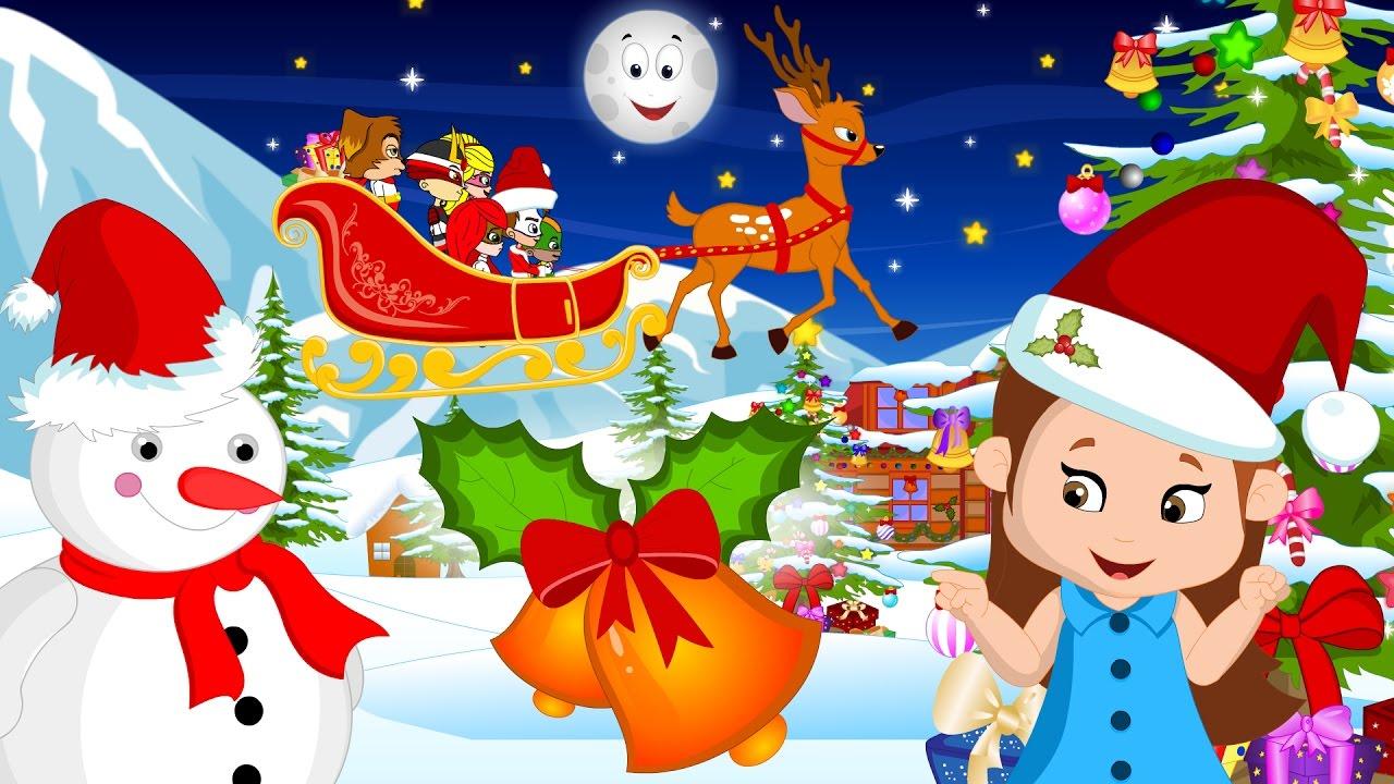 Jingle Bells   Christmas Songs and Christmas Carols Collection   Nursery Rhymes for Kids ...