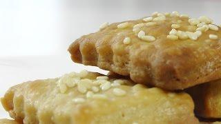 Печенье из пивного теста видео рецепт