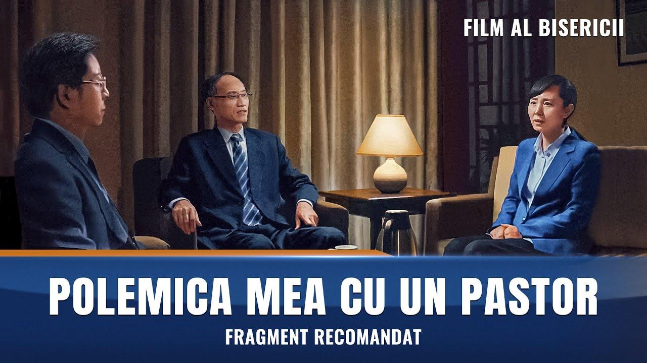 """Film creștin subtitrat """"CONVERSAŢIA"""" Segment 5 - Lupta unui creștin împotriva noțiunilor religioase ale unui pastor"""