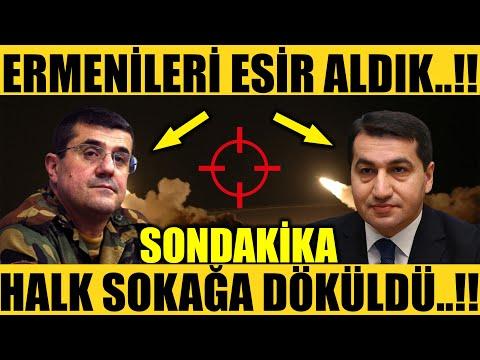 MUHTEŞEM İTİRAF GELDİ..!!ERMENİLERİ ESİR ALDIK..!! (Azerbaycan Son Dakika)