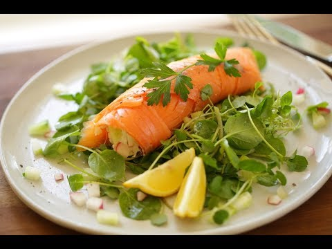 Beth's 15-Minute Smoked Salmon Roulade (Real-Time Recipe!) | ENTERTAINING WITH BETH