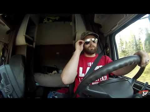 My Trucking Life - TRUCKING WHILE SICK? - #1536