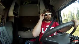 My Trucking Life - Trucking While Sick? - #1536