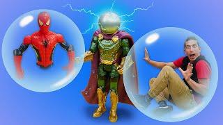 Человек Паук в видео онлайн - Ловушка для Супергероев на Острове Сокровищ! Новые игры для мальчиков