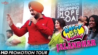 """Happy Go lucky"" Promotional Tour ""Jalandhar "" 