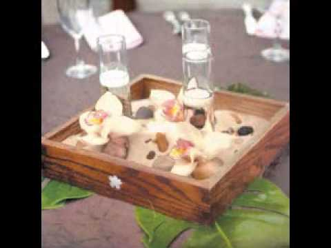 DIY Beach wedding centerpieces decorations - YouTube