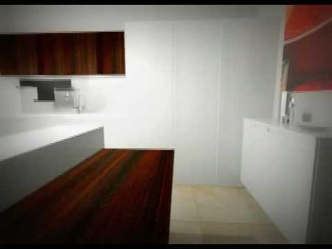 Cucina elmar ecletica 03 bianca, tavolo pieghevole, colonna angolo ...