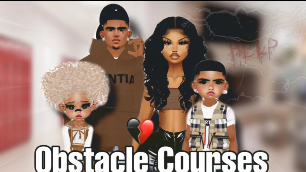 Obstacle Courses|S4 EP4|IMVU SERIES
