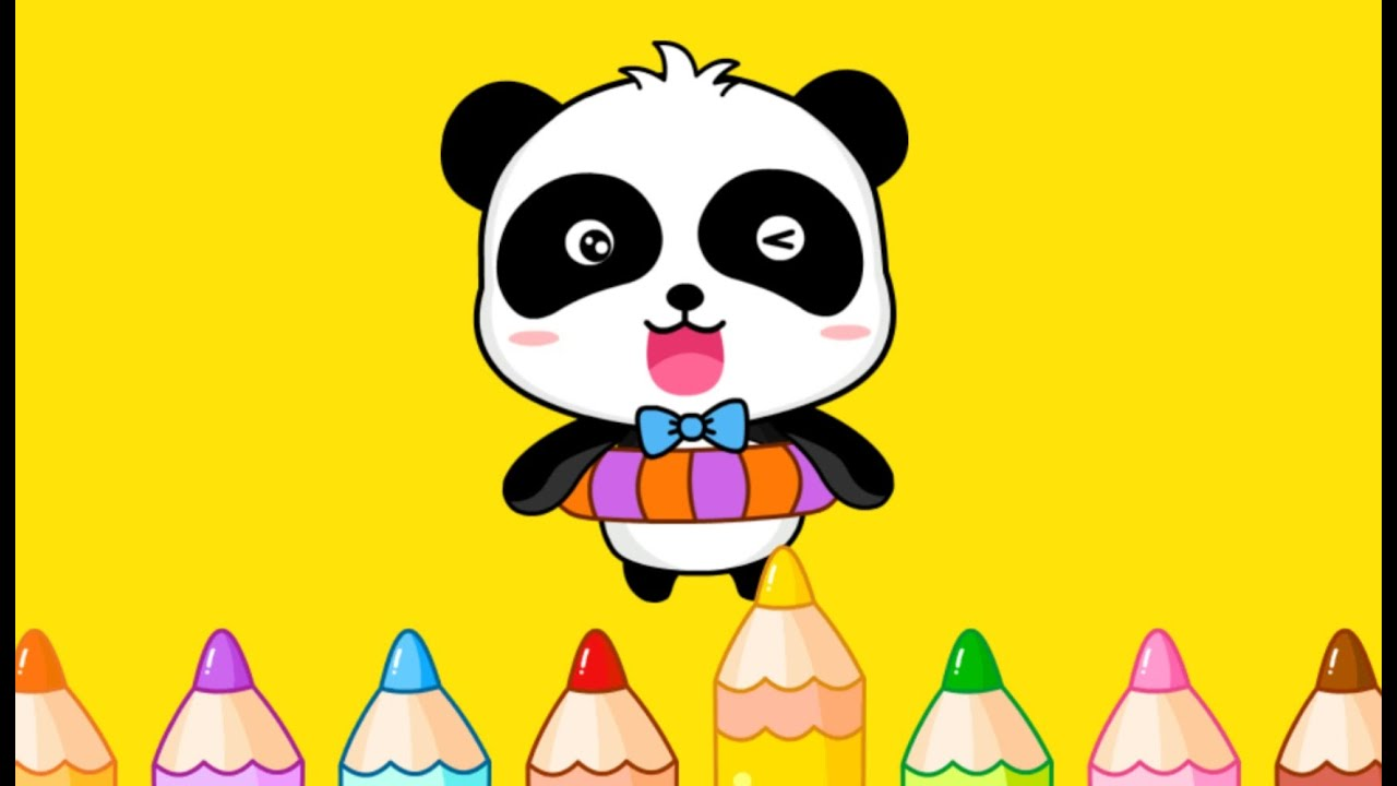 color games free for kids learning colors for preschooler or toddlers educational game by babybus - Color Games For Toddlers