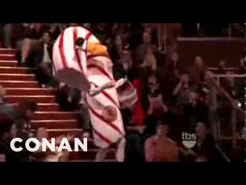 Minty The Candy Cane - TBS Conan Promo