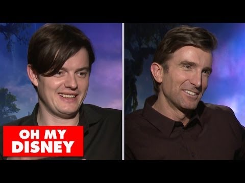 Fairy Tale Trivia with Maleficent's Sam Riley and Sharlto Copley  Oh My Disney