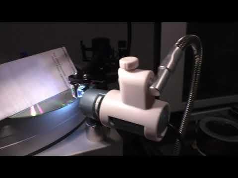 Using a Digital Microscope to Set Stylus Rake Angle - Dauer: 5 Minuten, 57 Sekunden