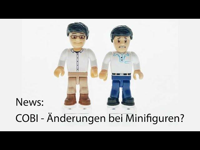 News: COBI - Änderungen bei Minifiguren?