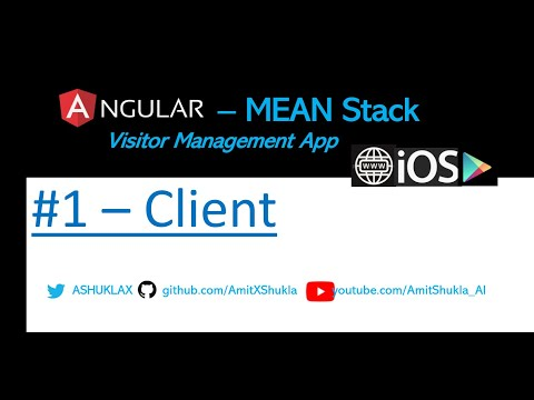 Visitor Management App - #1 Client - Electronic Register App (Angular 7 MEAN Stack) thumbnail