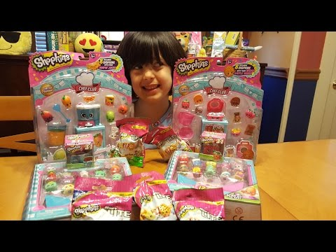 Shopkins Chef Club, Mini lights and 3 in 1 boxes!