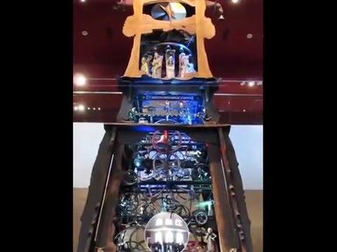 Millenium Clock Tower National Museum of Scotland Edinburgh