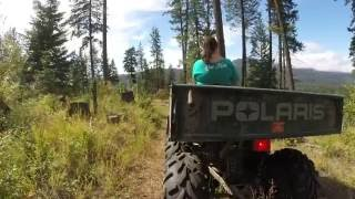 Riding ATV'S in Northern Idaho