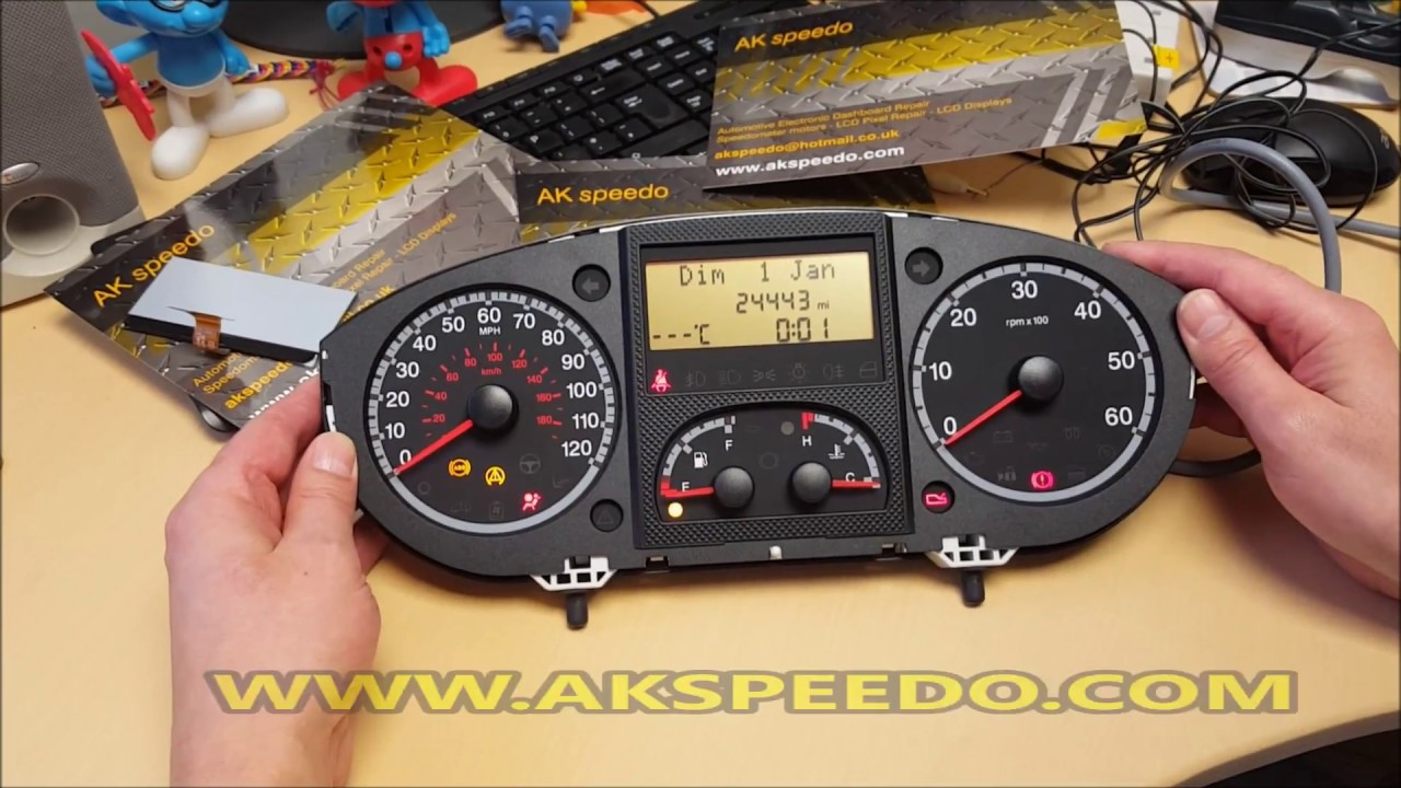 fiat ducato speedometer lcd repair youtube. Black Bedroom Furniture Sets. Home Design Ideas