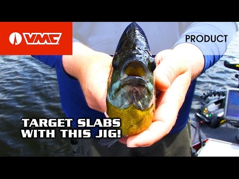 Targeting Panfish With The VMC® Curl Tail Spin Jig