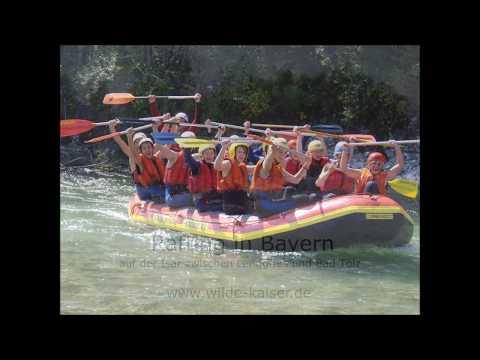 Rafting in Bayern auf der Isar : www.wilde-kaiser.de